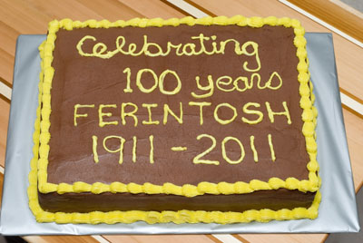 http://www.cremedelacakes.ca - Farintosh, Alberta - 100 Years