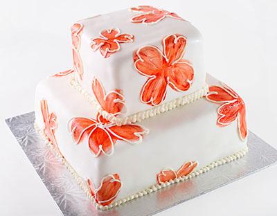 http://www.cremedelacakes.ca - Organic Orange