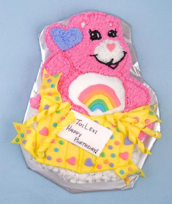 http://www.cremedelacakes.ca - Carebear Cake