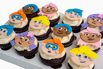 http://www.cremedelacakes.ca - Bubble Guppies