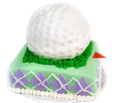 http://www.cremedelacakes.ca - Gigantic Golf Ball