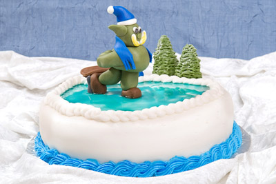 http://www.cremedelacakes.ca - Ice-Skating Orc