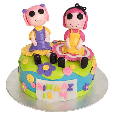 http://www.cremedelacakes.ca - Lalaloopsy