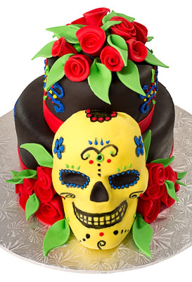 http://www.cremedelacakes.ca - Dia de Los Muertos