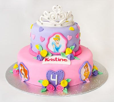 http://www.cremedelacakes.ca - Disney Princess