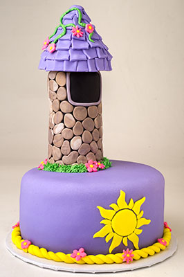http://www.cremedelacakes.ca - Tangled's Tower