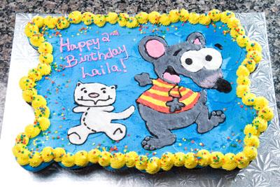 http://www.cremedelacakes.ca - Toopy and Binou Cupcake Cake