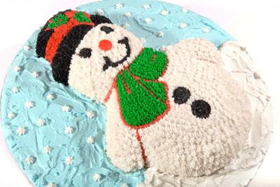 https://www.cremedelacakes.ca - Snowman