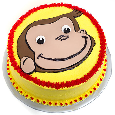 https://www.cremedelacakes.ca - Curious George