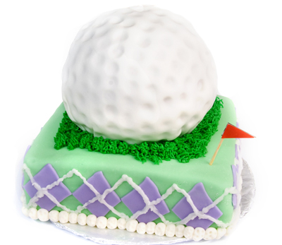 https://www.cremedelacakes.ca - Gigantic Golf Ball