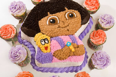 https://www.cremedelacakes.ca - Dora the Explorer