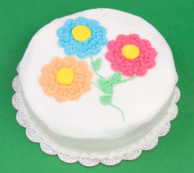 https://www.cremedelacakes.ca - White Floral