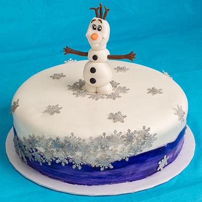 https://www.cremedelacakes.ca - Frozen-themed Cakes