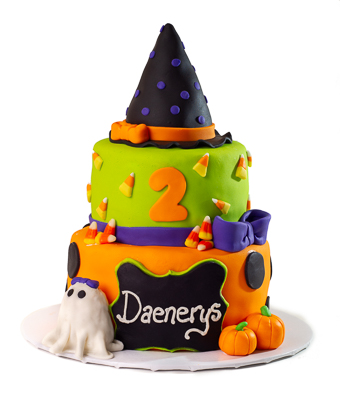 https://www.cremedelacakes.ca - Halloween Birthday