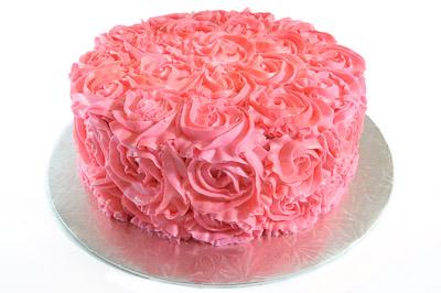 https://www.cremedelacakes.ca - Rosette Cake